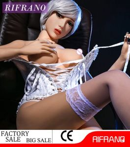 158cm Sexy Adult Doll Metal Skeleton Sex Doll with Green Eyes pictures & photos