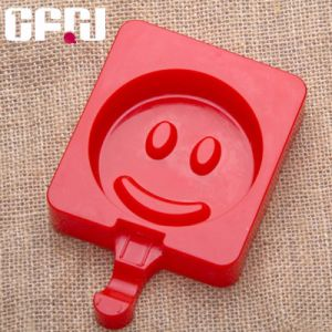 Smile Face Food Grade Silicone Ice Cream Molds pictures & photos