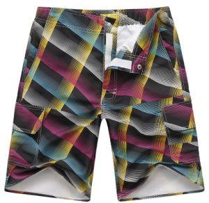 Men′s Beach Fashion Printed Cycling Pants Shorts (Log-09I) pictures & photos