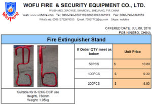 Fire Extinguisher Stand pictures & photos