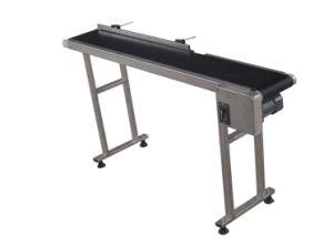 Automatic Production Line Adjustable PVC Belt Conveyor for Inkjet Printer pictures & photos