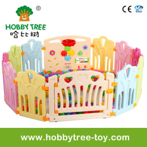2017 Ce Standard Baby Plastic Game Fence on Sale (HBS17068A) pictures & photos