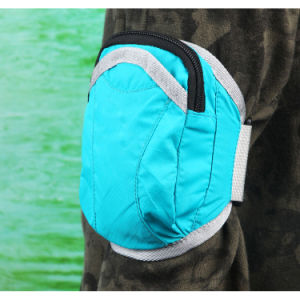 """Outdoor Sports Nylon Armbag Wrist Pouch Bag for 5.5"""" Phone pictures & photos"""