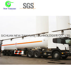 40-Feet LNG Liquid Tank Container Semi Trailer pictures & photos