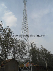HDG Steel Tubular Microwave Transmission Tower pictures & photos