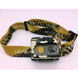 Super Bright Rechargeable USB Port LED Headlamp pictures & photos