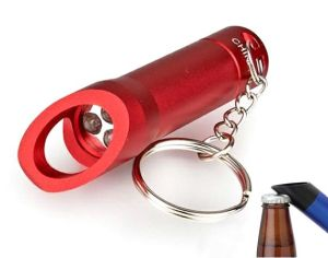 2017 Mini LED Flashlight Torch Bottle Opener Keychain pictures & photos