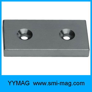 Countersink Block Neodymium Permanent Magnets pictures & photos