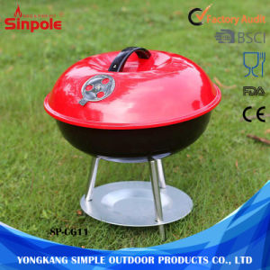 Outdoor Camping Wholesale Round Foldable Portable BBQ Grill pictures & photos