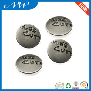 Fashion Metal Spring 4parts Engarved Logo Custom Snap Button pictures & photos