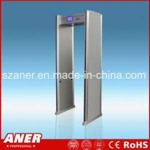 China Manufacturer High Sensitivity Door Frame Metal Detector with 33zones pictures & photos