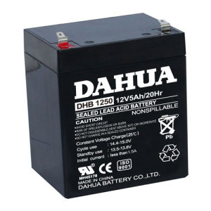 12V 5ah VRLA Sealed Lead Acid Maintenance Free UPS Battery pictures & photos