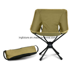 Foldable Swivel Areometal Leisure Space Chair with Anti-Slip Feet Gloves pictures & photos
