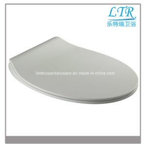 Special Design Easy Clean Slim Round UF Toilet Seat pictures & photos