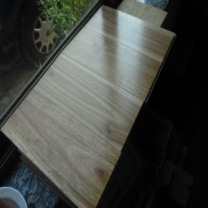 Solid Australian Spotted Gum Hardwood Flooring pictures & photos