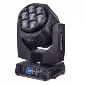 Professional Stage Light 7X15W RGBW 4in1 Zoom LED Moving Head pictures & photos