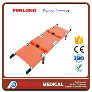 Convenient Hospitai Furniture Folding Stretcher pictures & photos