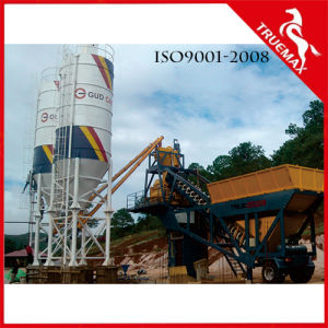 Automation Porable/Mobile Cement Concrete Machine/Plant for 60m3/H pictures & photos