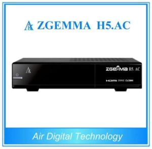 H. 265 TV Decoder ATSC + DVB S/S2 Zgemma H5. AC pictures & photos