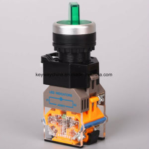 Illuminated Rotary Type Push Button Switch (LA118MLX) pictures & photos