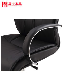 China Factory Hot Sale PU Leather Chair with Armrest for Office. pictures & photos