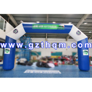 Blue Commercial Inflatable Arch for Promotional Event/Arch with Detachable Printing pictures & photos