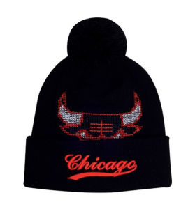 2016 Hot Sale 100% Acrylic Custom Knitted Hat Beanies pictures & photos
