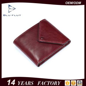 2016 Top Quality Fashion Design Men′s Genuine Leather Coin Purse Wallet pictures & photos