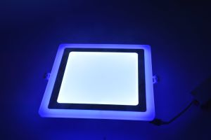 LED on-off Color Changing Panel Light Aluminum Ctorch pictures & photos