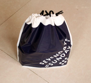 Polyester Custom Drawstring Bags for Gifts pictures & photos