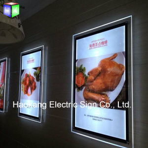 Acrylic LED Poster Frame for Backlit Menu Board pictures & photos