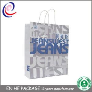 Paper Bags with Handles Wholesale Paper Bag with Logo Print pictures & photos