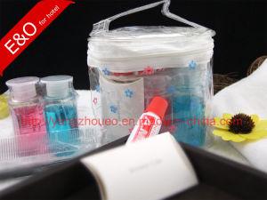Hospital Amenities Patient Kits PVC Transparent Pouch Cosmetic Bag pictures & photos