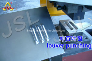 Shanghai Jinsanli DIW Series Punches Press Machine Hydraulic Pipe Punching Machine pictures & photos