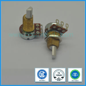 16mm Rotary Potentiometer with Brass Bushing for Automotive Air Conditioner Control pictures & photos
