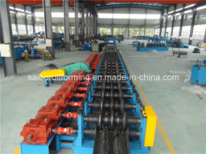 Three Waves Guard Rail Roll Forming Machine pictures & photos