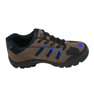 Hot Man Leather Hiking Shoes Trekking Shoes pictures & photos