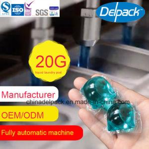 OEM&ODM Automatic Liquid Detergent, Washing Liquid Detergent Pod, Concentration Laundry Liquid Detergent Capsule pictures & photos