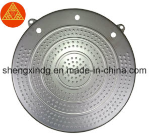 3D Wheel Alignment Wheel Aligner Turntable Turnplate Rotary Plate Rotating Turntable Sx406 pictures & photos