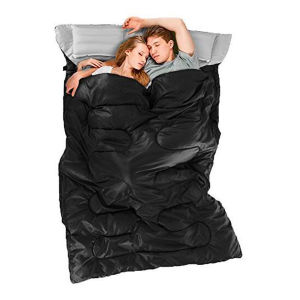 Double Backpacking 2 Pillows Carrying Bag Camping Hiking Sleeping Bag pictures & photos