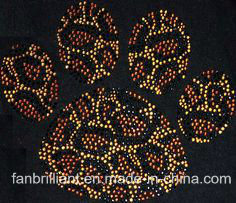 Iron on Rhinestone Motif for Shoes Clothes