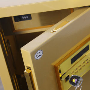 Security Home Safe Box with Digital Lock-Champagne Gold Seriers Fdx A1/D 70-Y pictures & photos