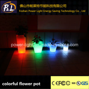 Color-Changing Illuminated LED Flower Pot pictures & photos