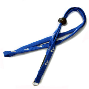 Polyester Narrow/Tubular Neck Lanyards with PVC Card Holder pictures & photos