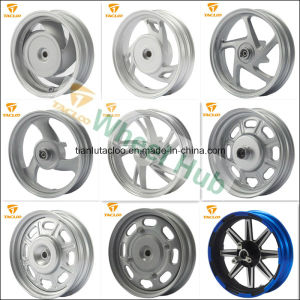 China Manufacturer OEM 10 Inch Steel Wheel/Alloy Wheel for Motorcycle pictures & photos