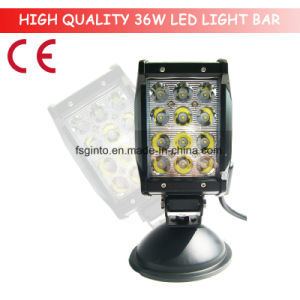 36W Quad Row LED Light Bar for Truck, Trailer (GT3401-36W) pictures & photos