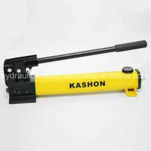 Two Speed Single Acting Lightweight Hydraulic Hand Manual Pump pictures & photos