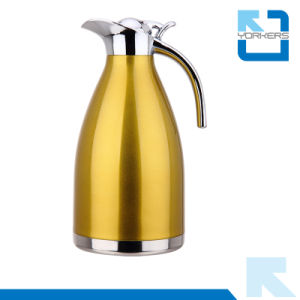 201 Double Wall Stainless Steel Coffee Carafe/Vacuum Kettle pictures & photos