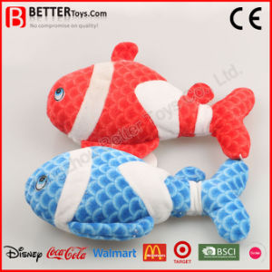 Colorful Soft Plush Animal Stuffed Fish Toy pictures & photos