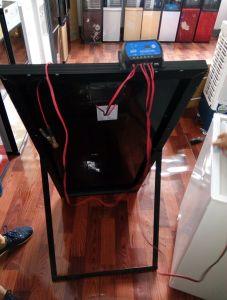 12V DC Compressor 128L Solar Upright Refrigerator Freezer pictures & photos